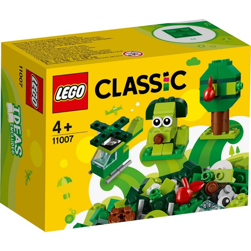 레고 클래식 창작 브릭 11007, 초록색