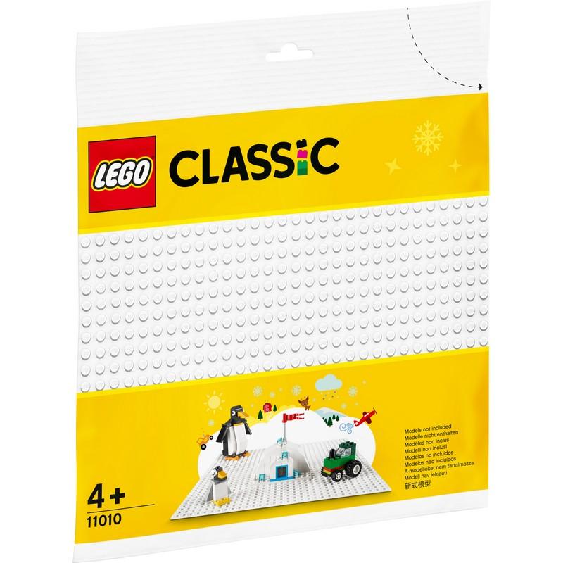 레고 클래식 조립판 11010, 흰색