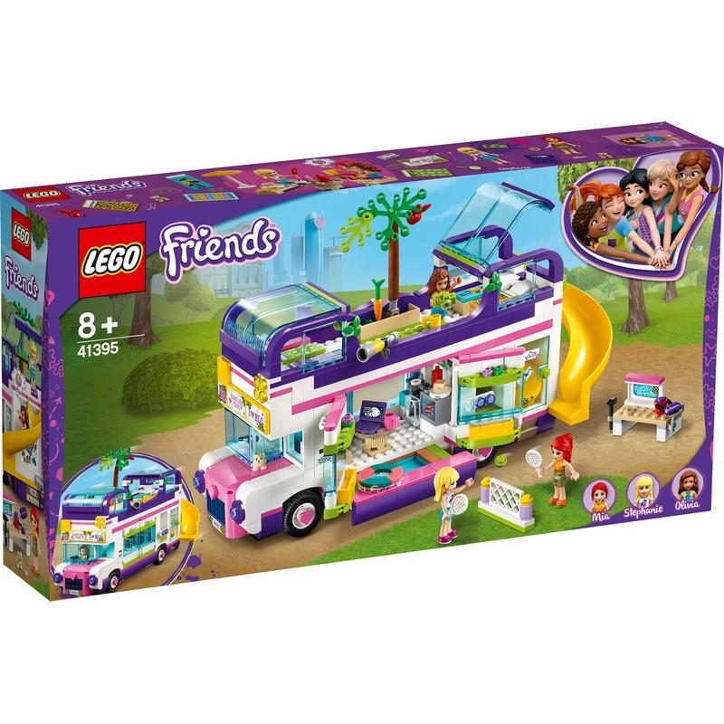 레고 프렌즈 우정 버스 41395, 혼합 색상