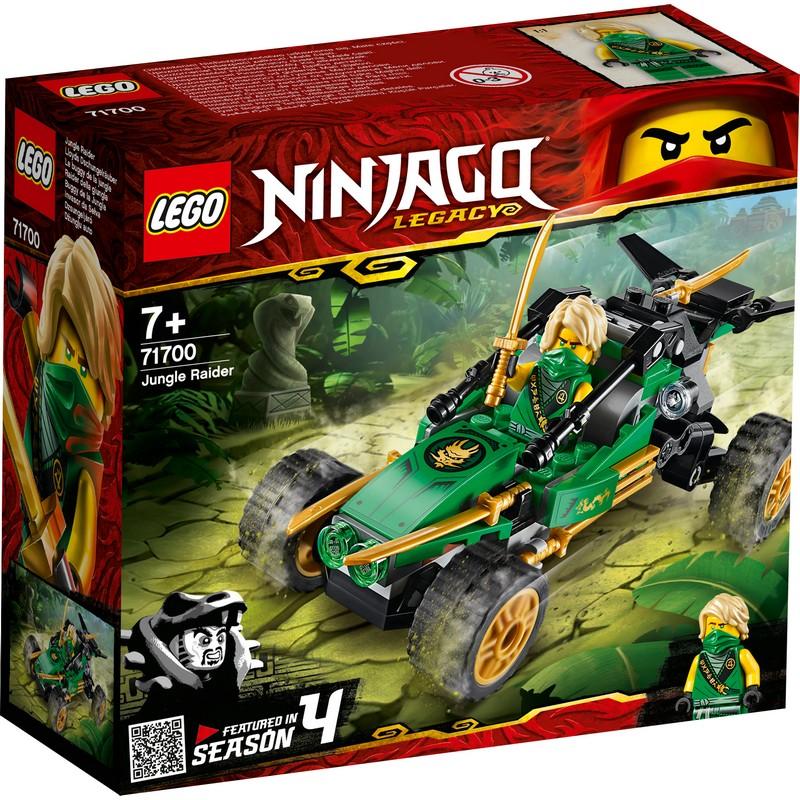 레고 닌자고 정글 레이더 71700, 혼합 색상