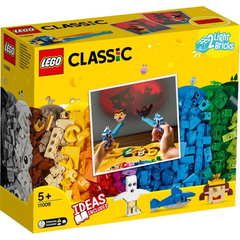 레고 클래식 브릭과 그림자 놀이 11009, 혼합 색상