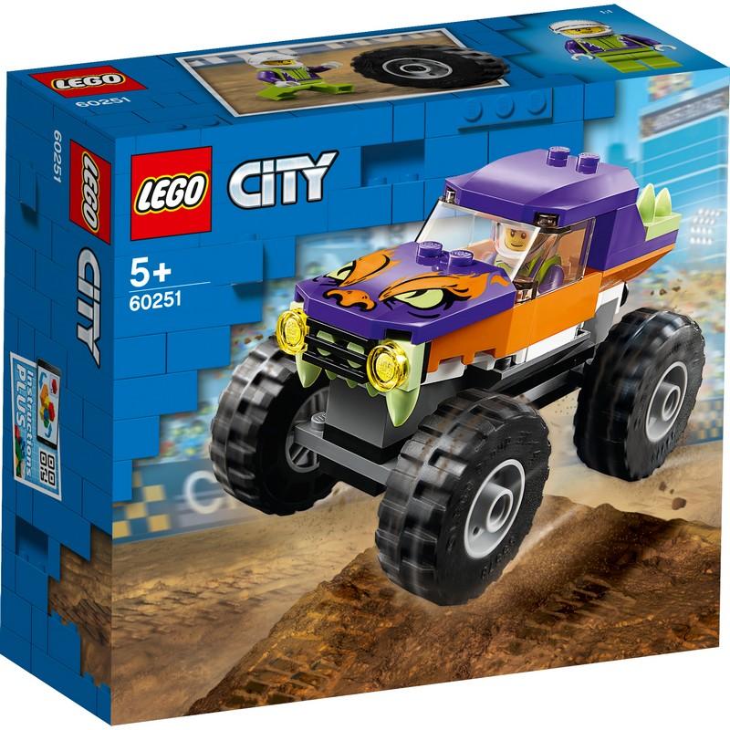 레고 시티 몬스터 트럭 60251, 혼합 색상