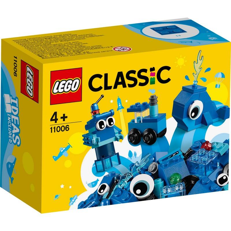 레고 클래식 창작 브릭 11006, 파란색