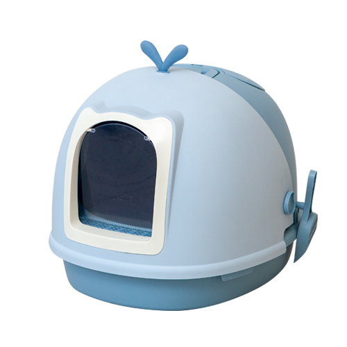 페슬러 은고양이 초대형 후드 토일렛, 블루