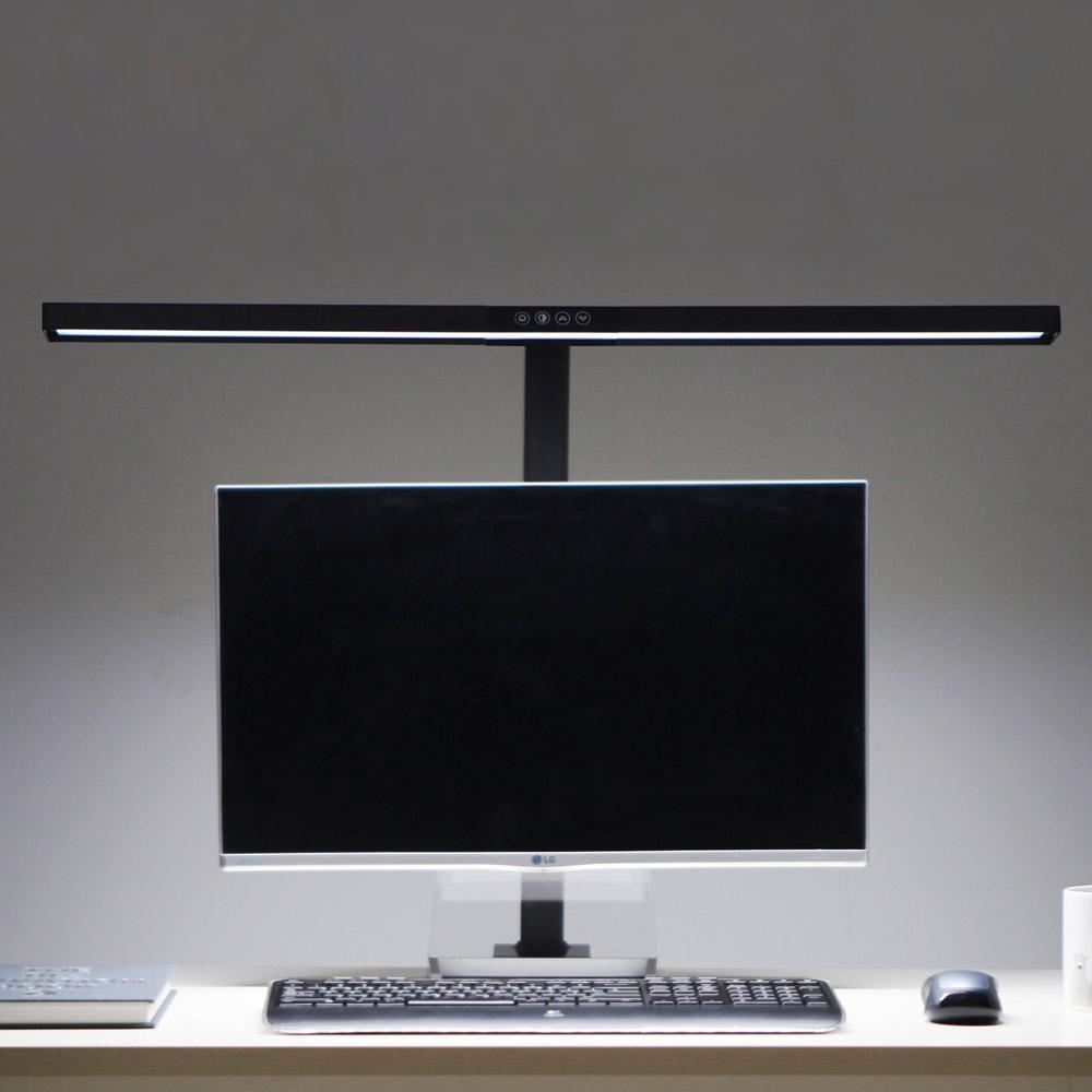 파파 LED 와이드 스탠드 800S PA-800S, 블랙