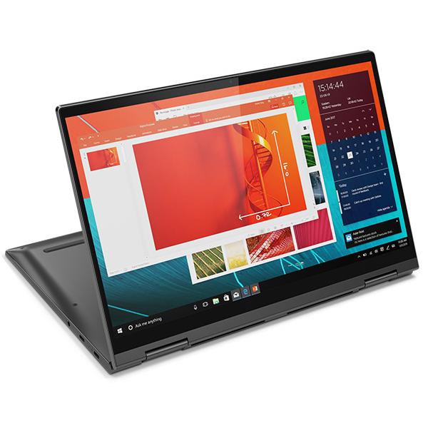 레노버 YOGA C740-14IML i5 Vibe 노트북 Iron Grey 81TC007BKR (i5-10210U 35.5cm WIN10 Intel UHD Grapics), 포함, SSD 256GB, 8GB