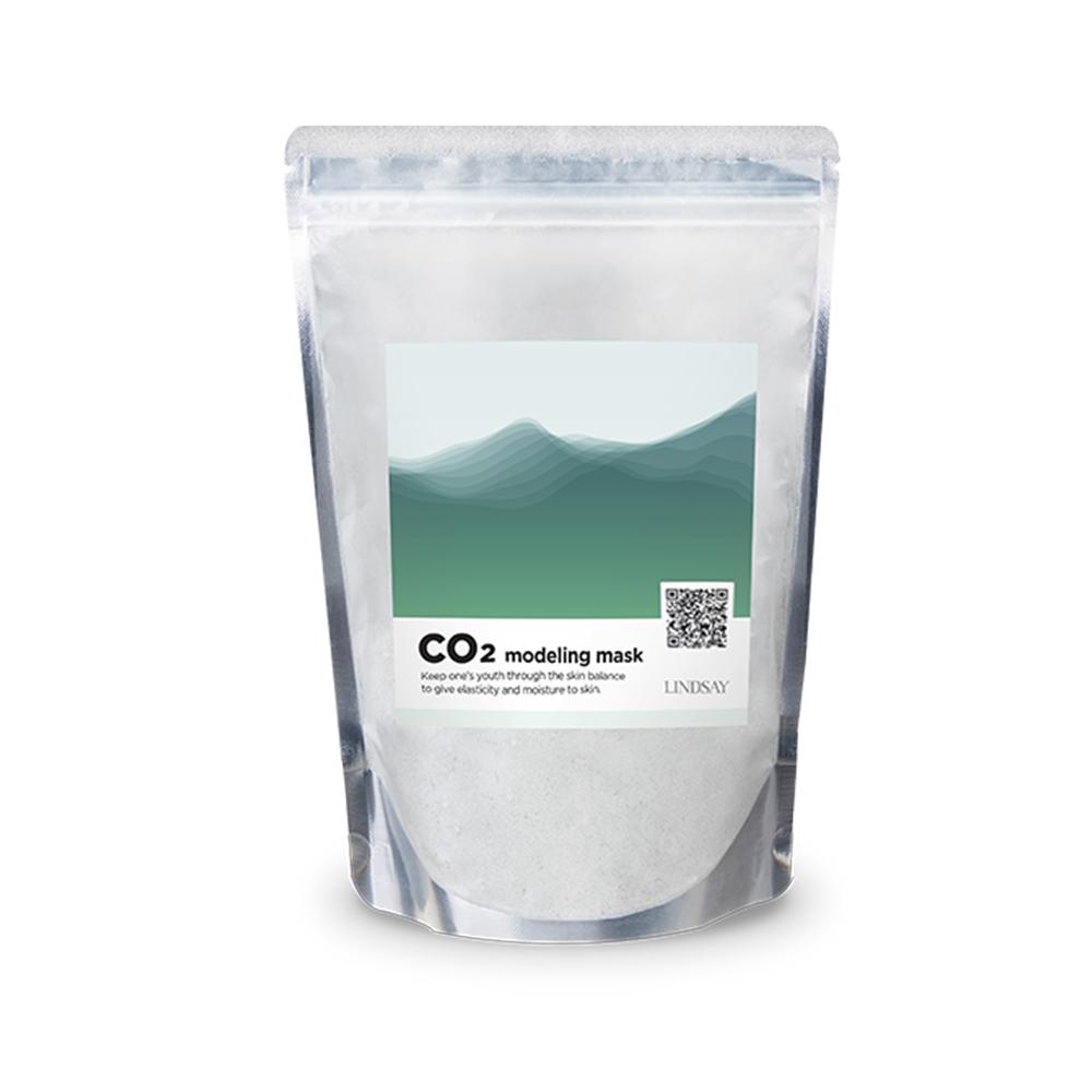 린제이 CO2 탄산 모델링팩 지퍼타입 400g, 1개입, 1개