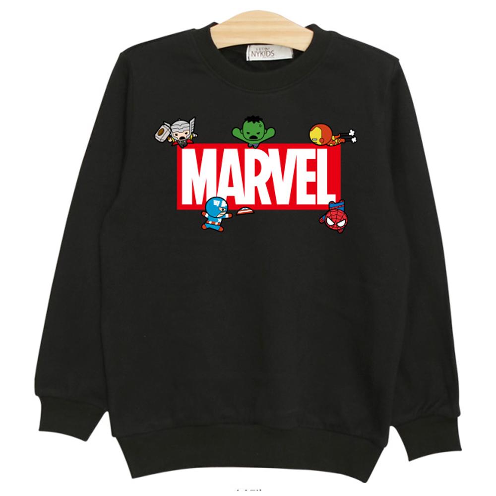 뉴욕꼬맹이 아동용 어벤져스 마블 맨투맨z 티셔츠 P021