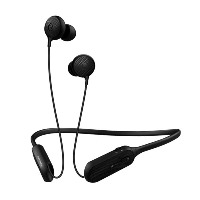 데시벨 넥밴드 와이어 초경량 블루투스 이어폰, BCS-A1, 검정
