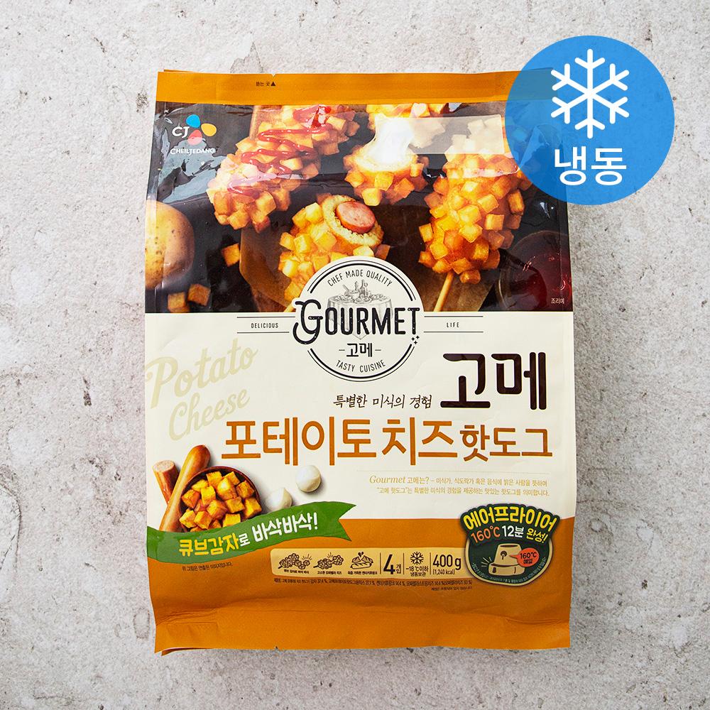 고메 포테이토치즈 핫도그 (냉동), 400g, 1개