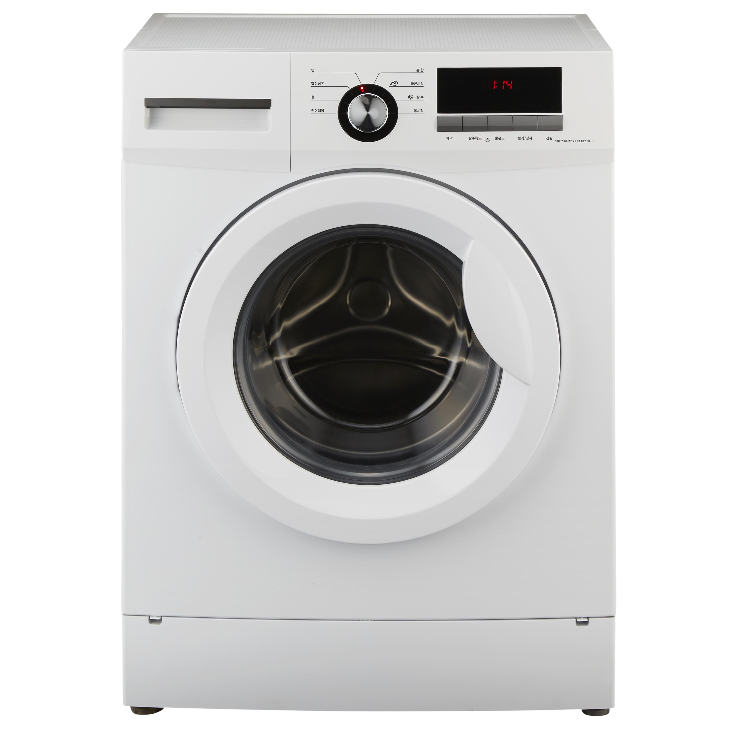 하이얼 AQUA 소형 일반 드럼세탁기 AWM06DMW 6kg 방문설치