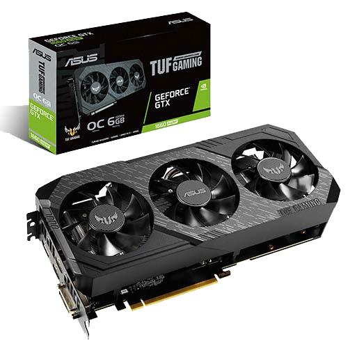 에이수스 TUF 3 Gaming 지포스 GTX 1660 SUPER O6G D6 6GB 그래픽카드 TUF 3-GTX1660S-O6G-GAMING