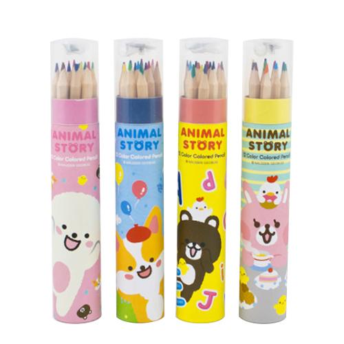 어린이집 생일선물 색연필 4세트, 12색