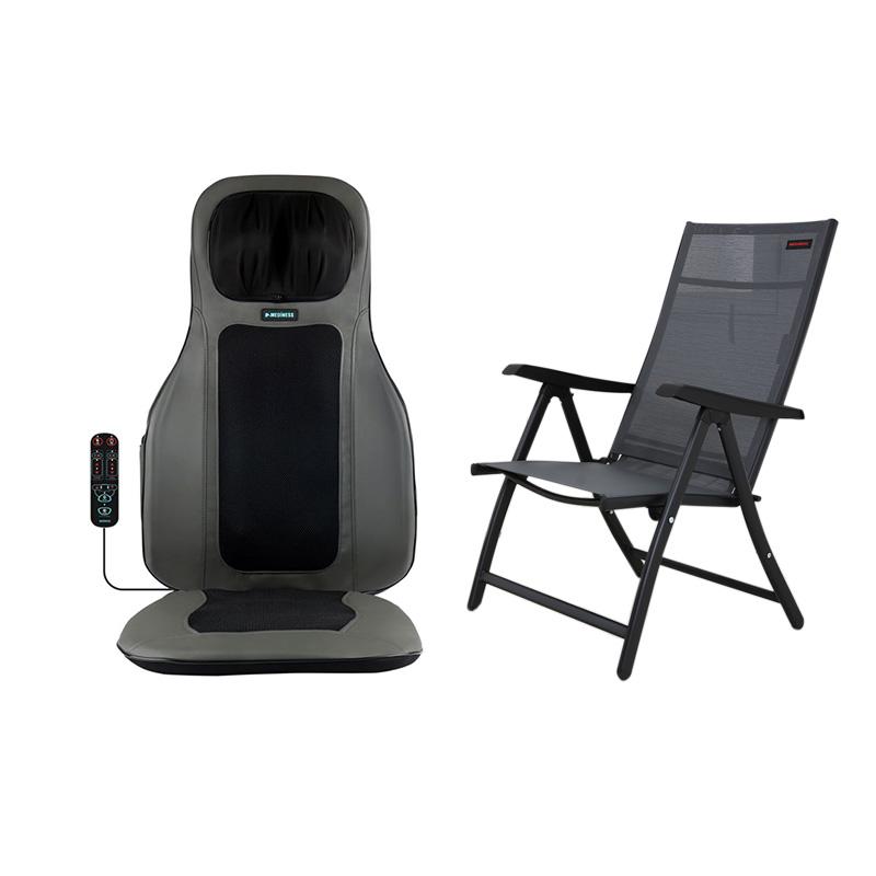 메디니스 씨아추 덤퍼 등쿠션 안마 시트 S6 + 전용 의자