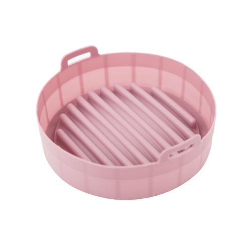에어로프라이팟 실리콘 냄비 19cm, 핑크, 1개