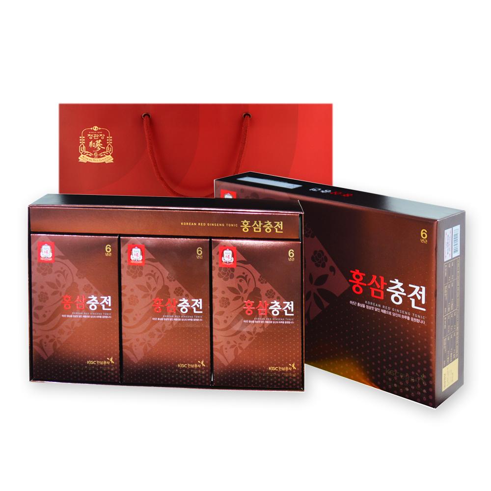 정관장 홍삼충전 + 쇼핑백, 50ml, 30개