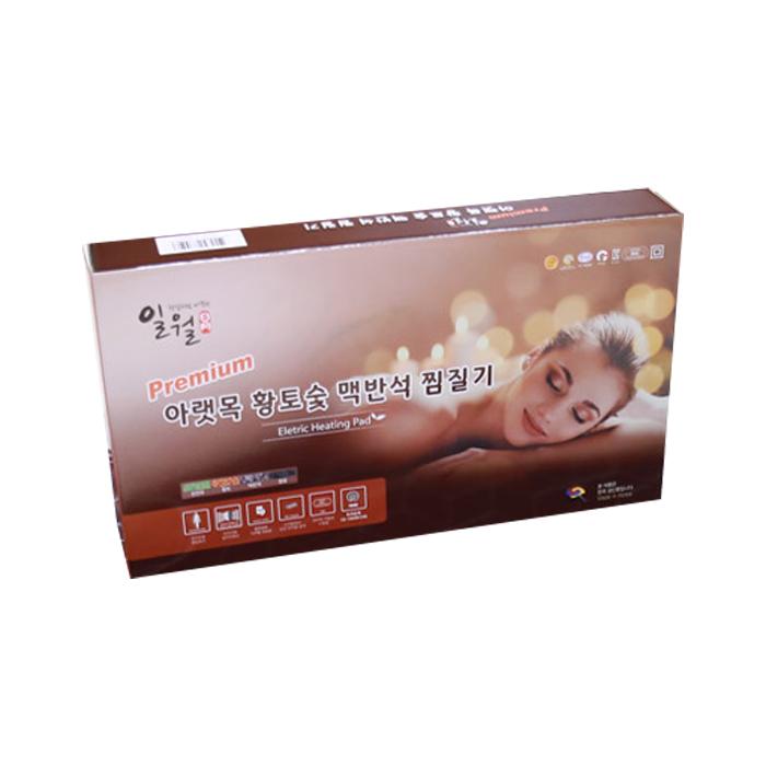 일월 아랫목 황토숯 맥반석 디지털 찜질기 레드, SJH-IW200