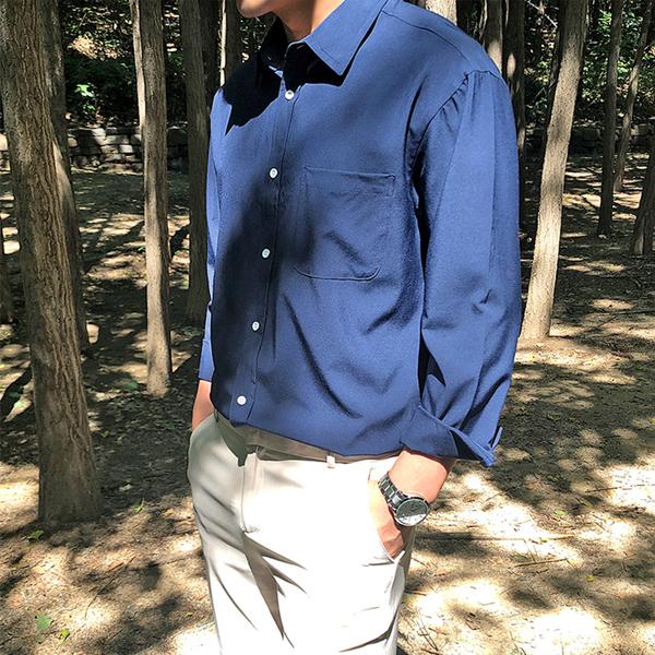 머시따 16컬러 오버핏 링클프리 셔츠