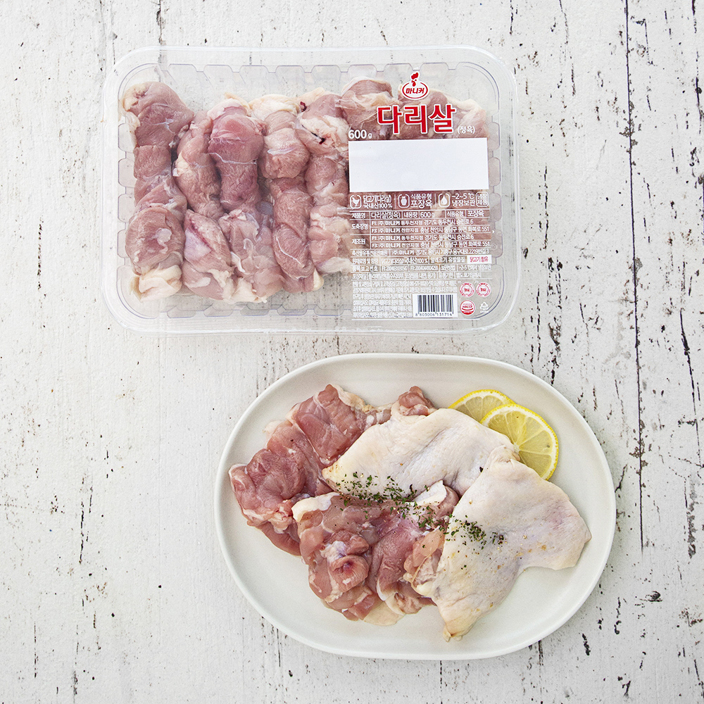 마니커 닭다리살 (냉장) 600g, 1개