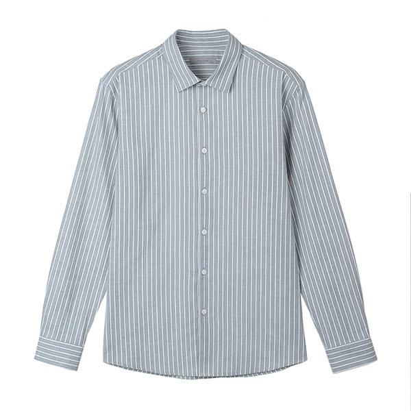 마인드브릿지 남성용 순면 스트라이프 셔츠 MTWS2101