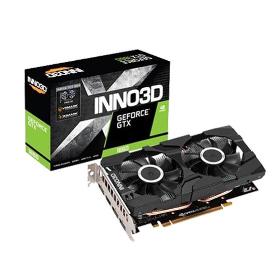 INNO3D 지포스 GTX 1660 D5 6GB X2 그래픽카드, INNO3D GTX1660 X2