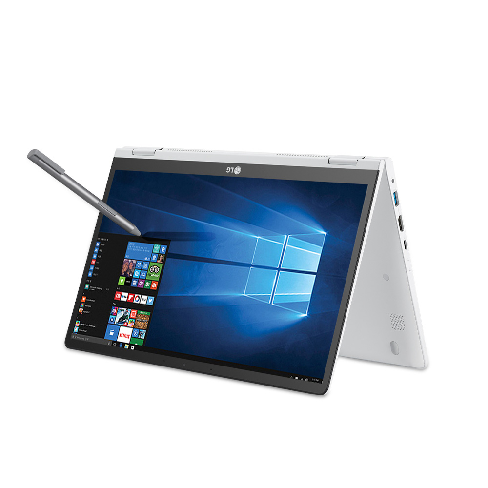 LG전자 2020 그램 2in1 노트북 14T90N-VR56K (i5-10210U 35.5cm), NVMe 256GB, 8GB, WIN10 Home