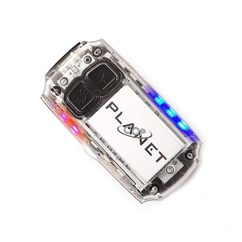 플래닛캅 개인안전표시 충전식 점멸 LED 경광등 OK-PS73, 1개