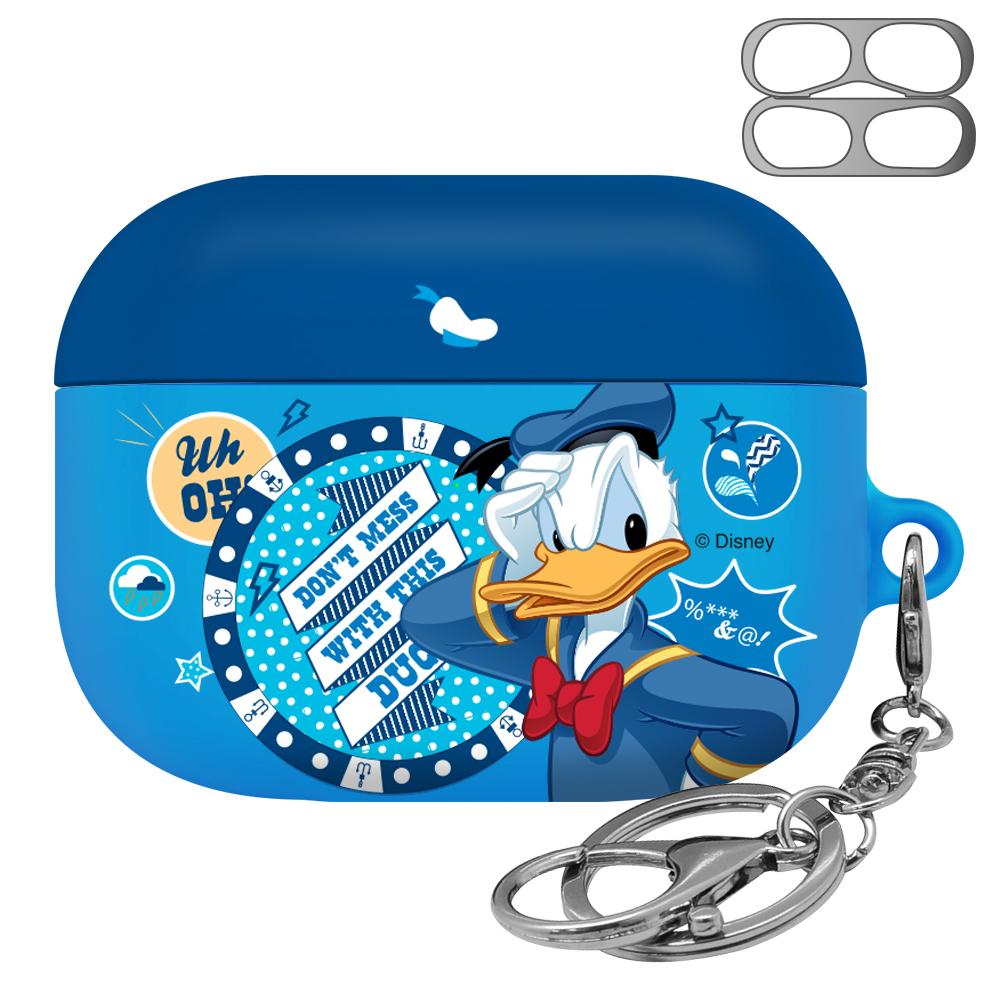 디즈니 에어팟 프로 케이스 + 철가루 방지 스티커, 단일 상품, 도날드