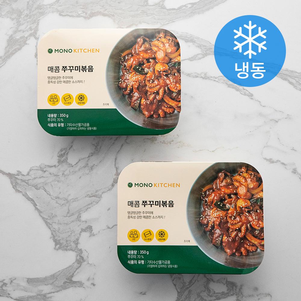 모노키친 신 주꾸미볶음 (냉동), 350g, 2개