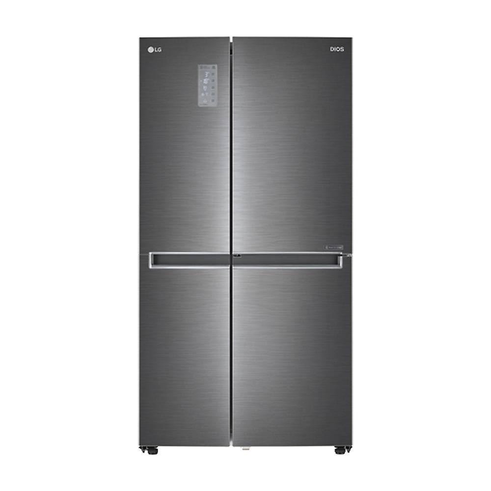 디오스 양문형 냉장고 S831NS35 821L 방문설치 샤이니루체