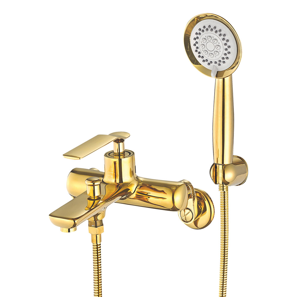 코시나 골드 욕조 샤워기 수전세트, 1개