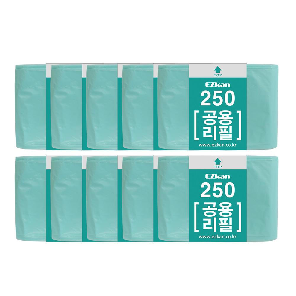 이지캔 공용리필 비닐봉지 250 14L/16L/20L 10p, 10개