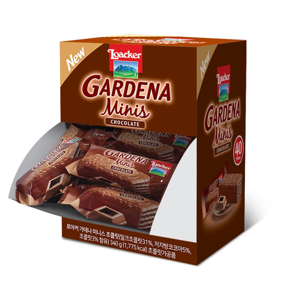 로아커 가데나 디스펜서 초콜릿, 8.5g, 40개