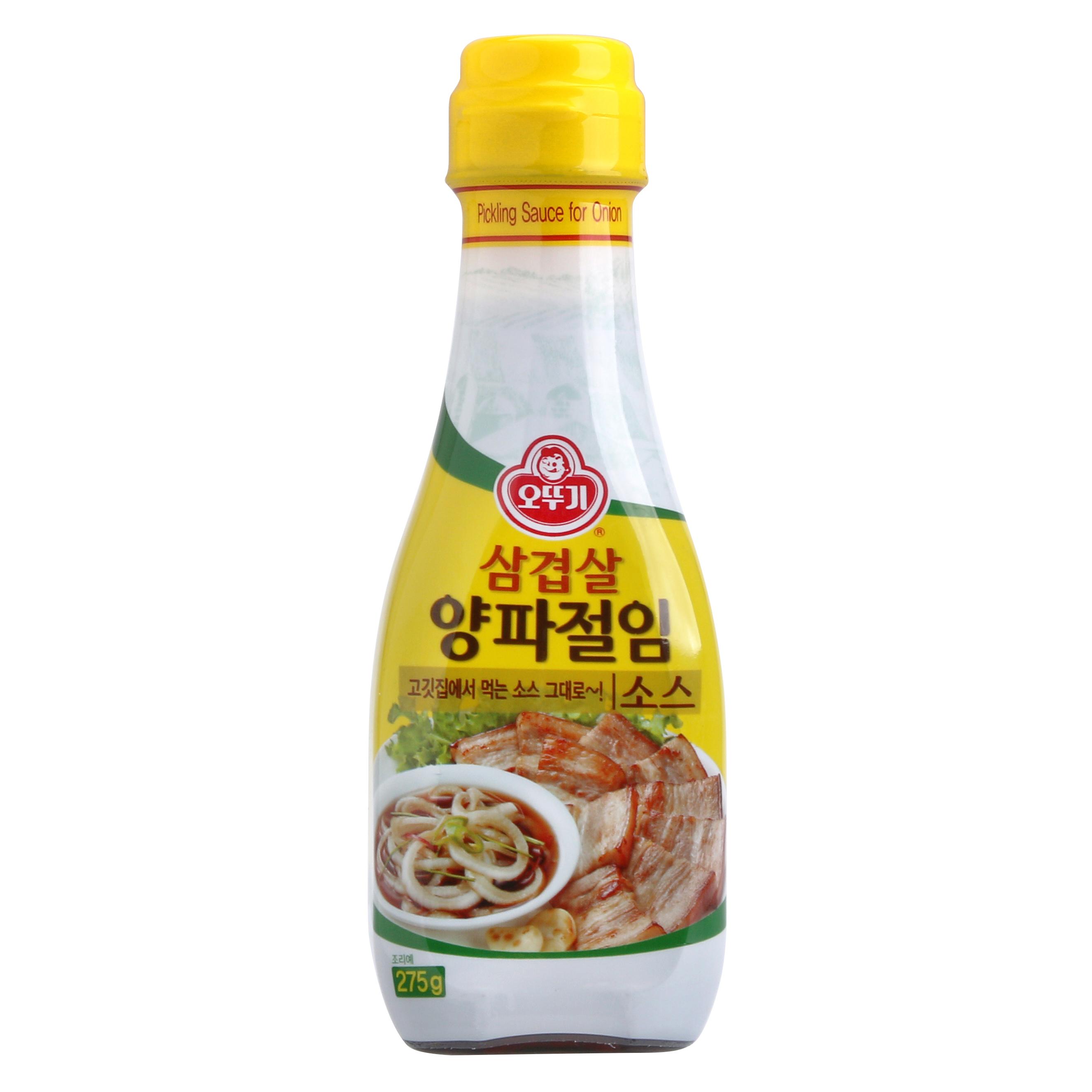 오뚜기 삼겹살 양파 절임 소스, 275g, 1개