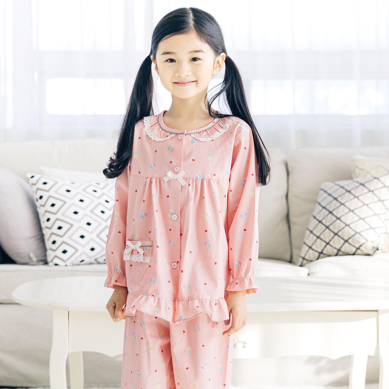 여아용 머핀 잠옷세트