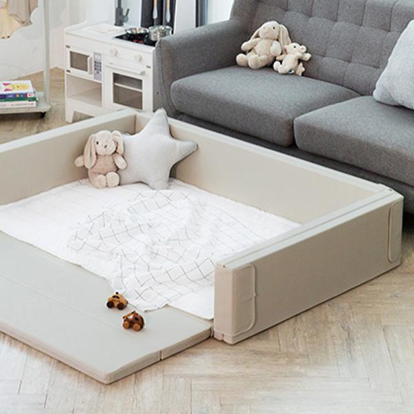 도노도노 아기 멀티 범퍼 침대 베이직, 베이지