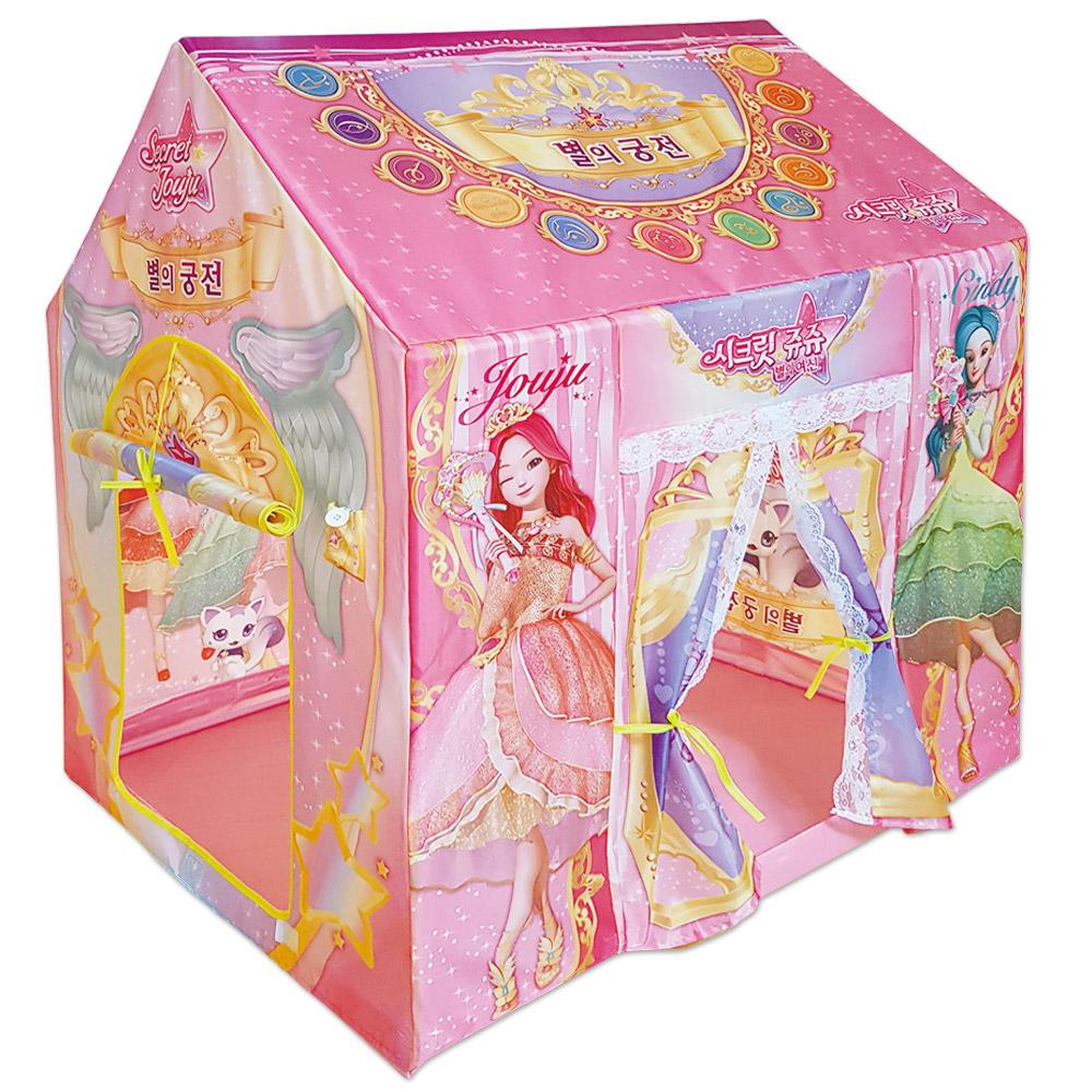 시크릿쥬쥬 별의 궁전 유아 놀이텐트, 혼합 색상
