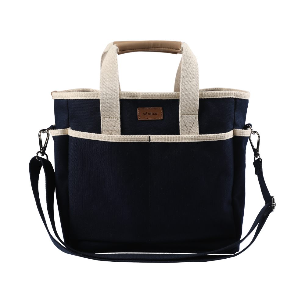 노르디코 로로 기저귀가방, 네이비 + 네이비