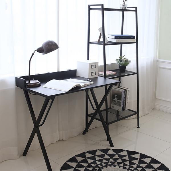 까사마루 녹스 컴퓨터 책상, 블랙