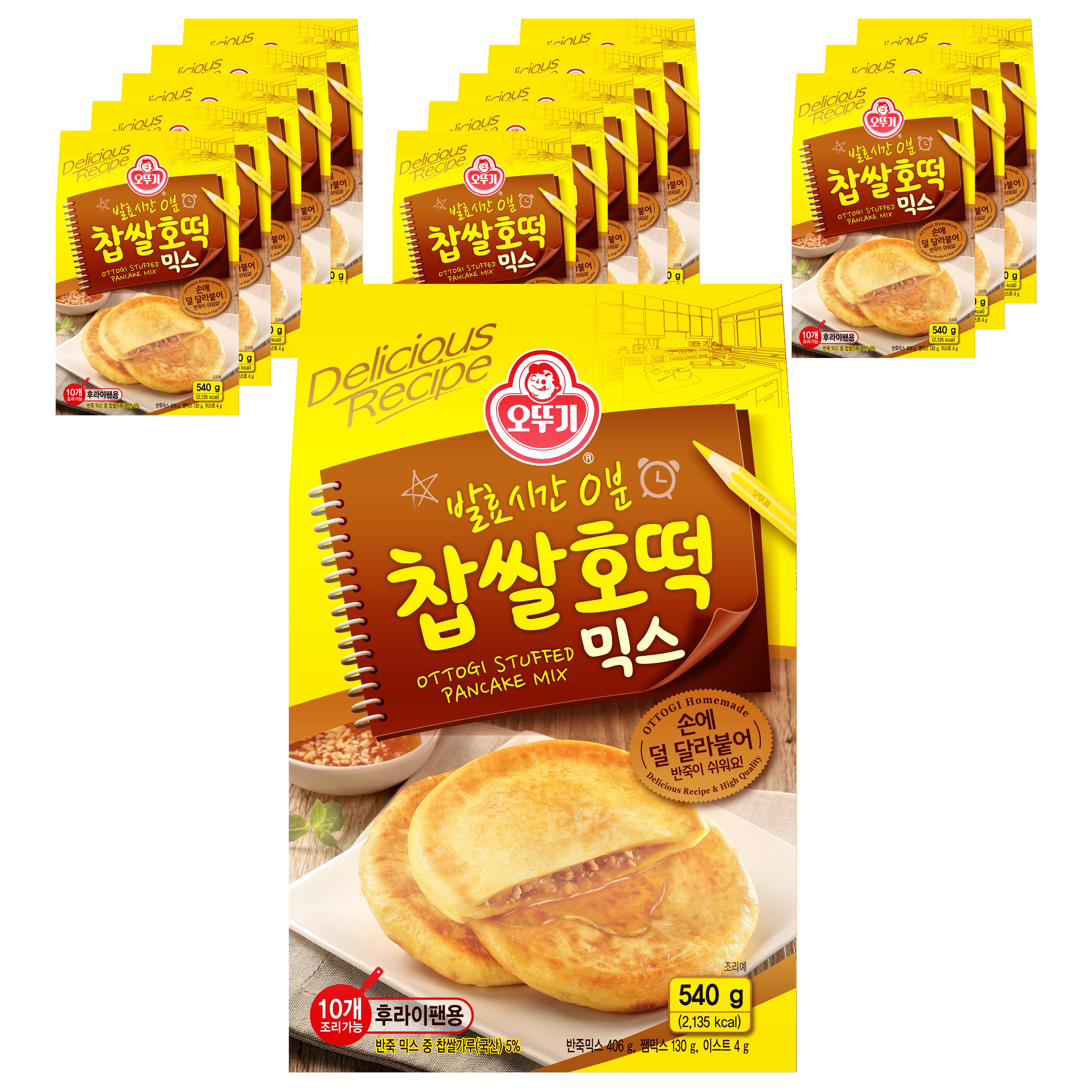 오뚜기 찹쌀 호떡 믹스, 540g, 14개