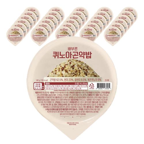 그로서리서울 배부른 퀴노아곤약밥, 140g, 32개-12-1215073973