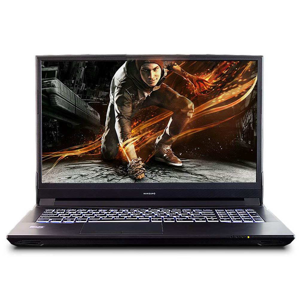한성컴퓨터 노트북 BossMonster EH6965 (i5-9400 40.89cm WIN미포함 RTX2060), 미포함, SSD 250GB, 8GB