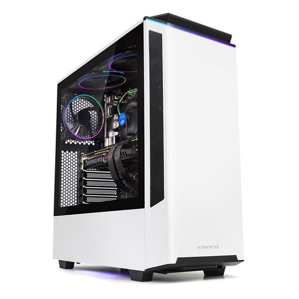 한성컴퓨터 보스몬스터 데스크탑 화이트 DX5526RXW (라이젠5-3500X WIN10 16GB SSD 500GB 교체장착 RTX2060 6GB 파워 정격 650W), 기본형
