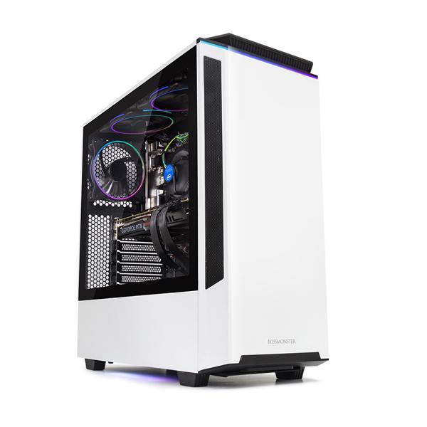 한성컴퓨터 보스몬스터 데스크탑 화이트 DX5727SRX (라이젠7-3700X WIN미포함 16GB SSD 500GB 교체장착 RTX2070 SUPER OC 8GB 교체장착 파워 정격 750W), 기본형
