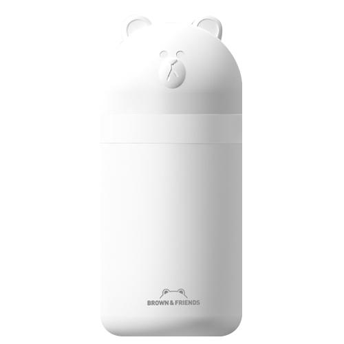 오아 라인프렌즈 브라운 USB 휴대용 미니 무드가습기, OA-HM051