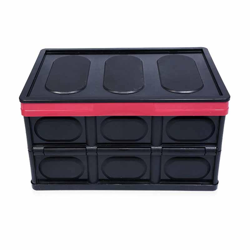 소품미야 코스트코 폴딩박스 56L, BLACK, 1개