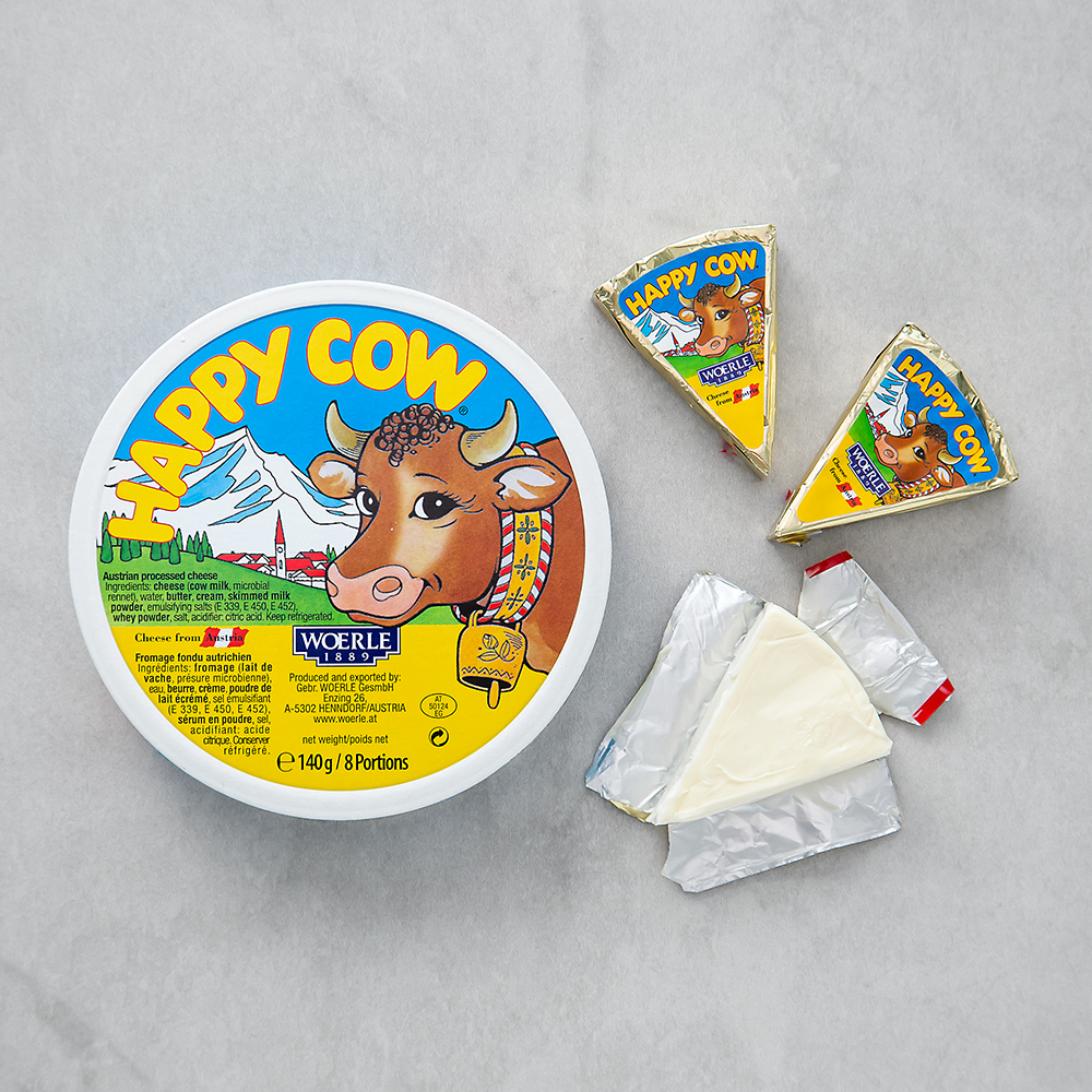 해피카우 레귤러 포션 치즈 8개입, 140g, 2개