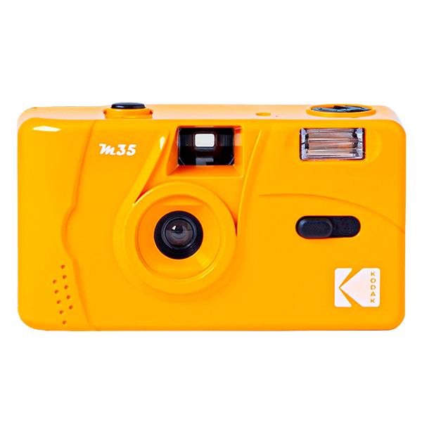코닥 필름 카메라 토이 카메라 M35, M35(Yellow), 1개
