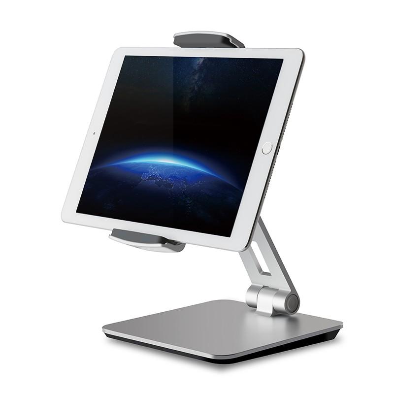 마이크로닉스 스탠드 태블릿 거치대 OPT-S1, 실버, 1개