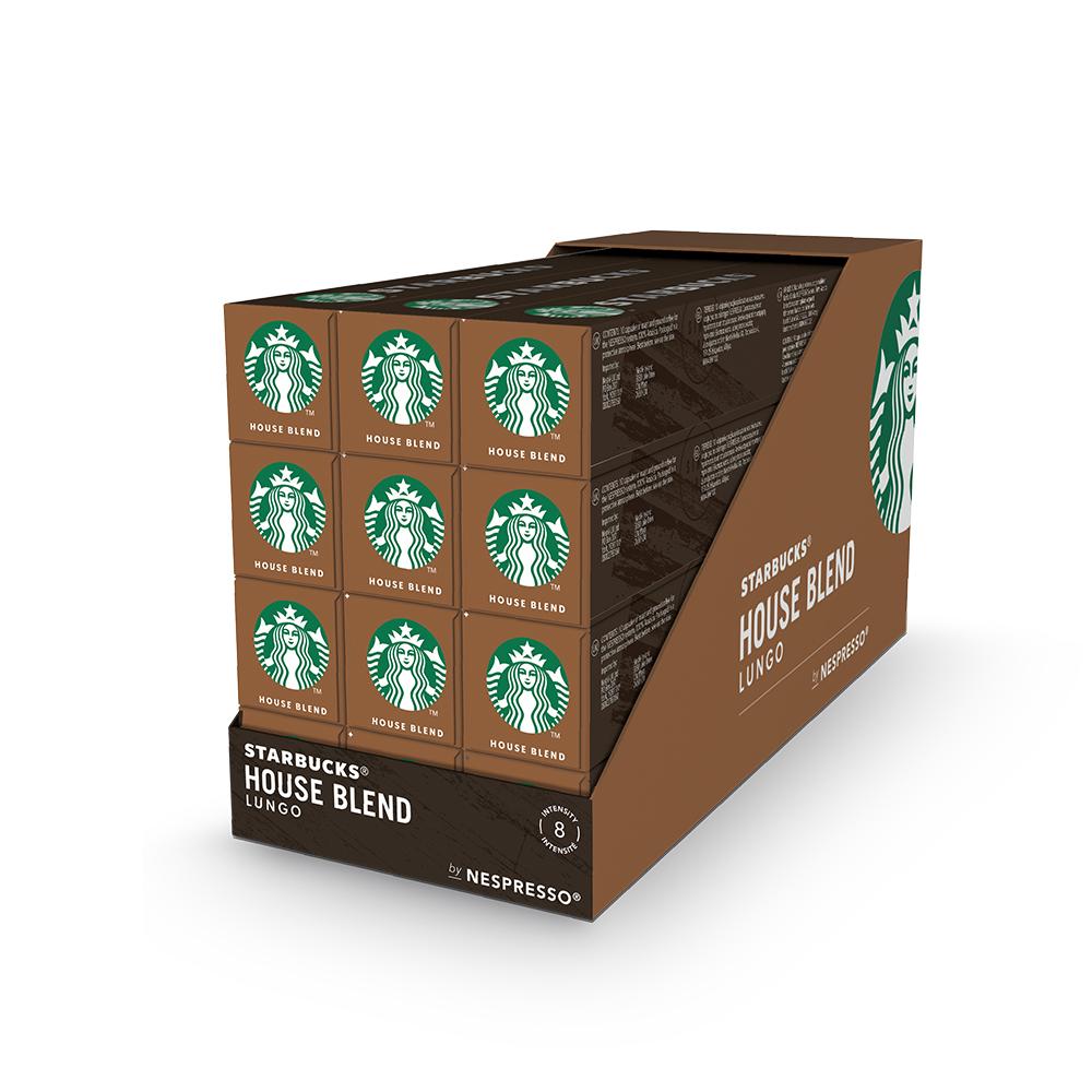 스타벅스 하우스블렌드 캡슐 커피 by 네스프레소, 5.7g, 120개